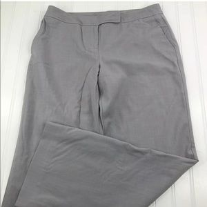 Pants - Ann Taylor Loft Petite Wide Leg Ann Fit Gray